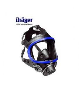 Drager 5500 Tam Yüz Gaz Maskesi